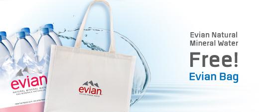 Promotion Evian Pack 6 EN